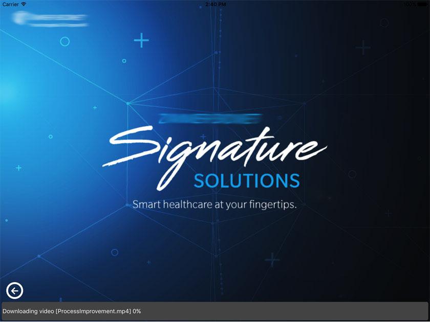 Presentation Healthcare App