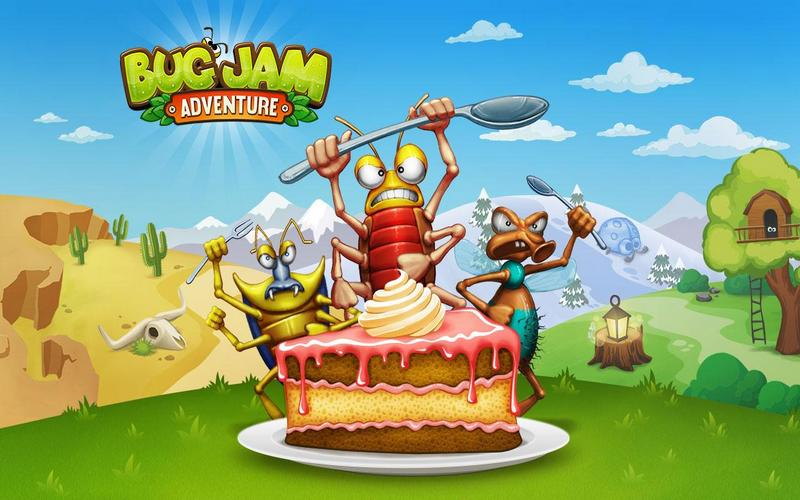 Bug Jam Adventure game