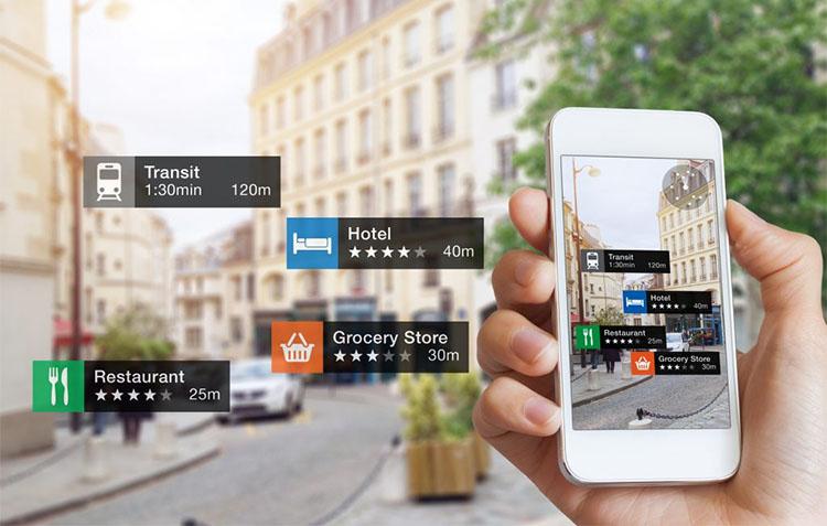 AR navigation app