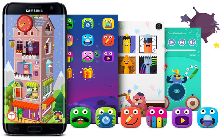 kids app interface