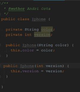 Java code example