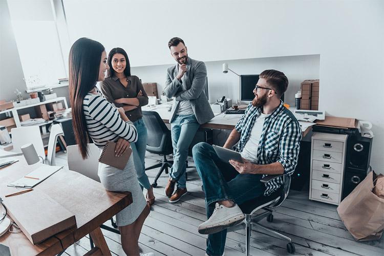 Communication between team members