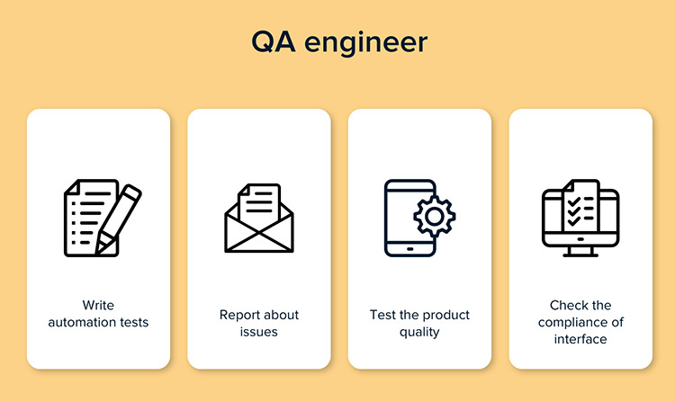 QA engineer responsibilities