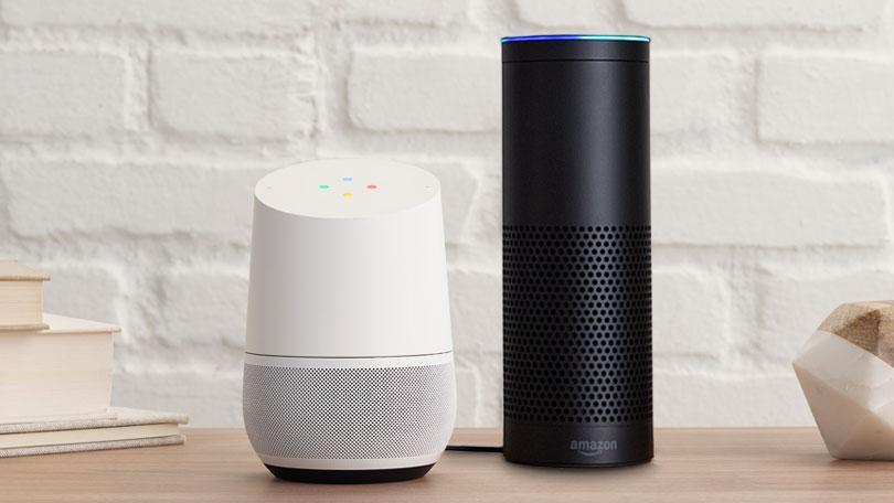 Google vs Amazon Voice Assistants