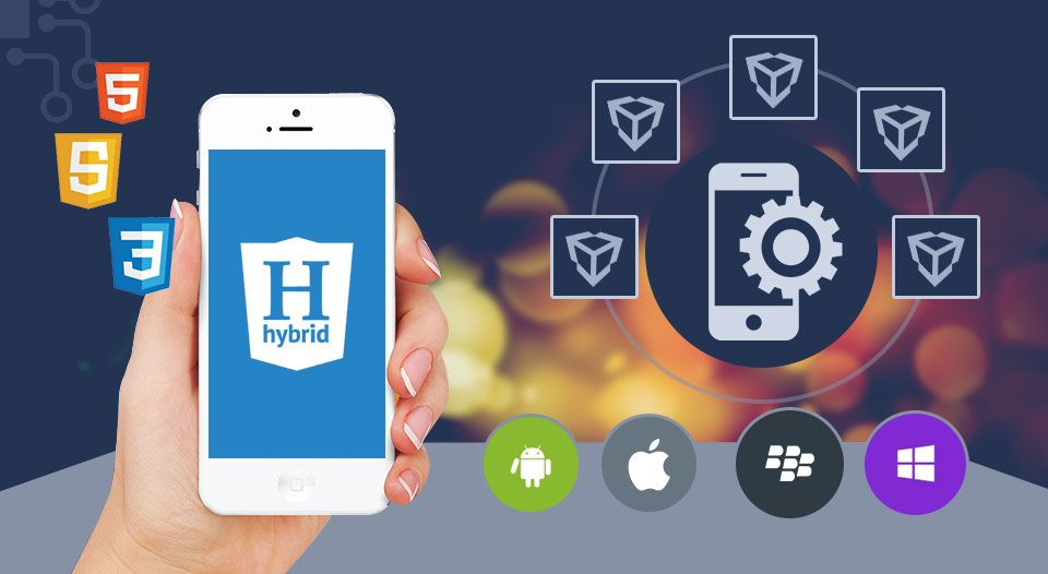 What is hybrid mobile app