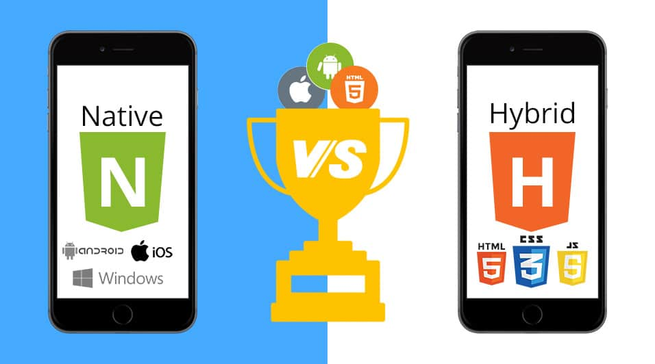 Hybrid vs native app development
