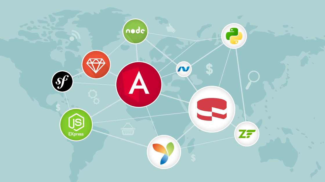 Most Popular Web Frameworks
