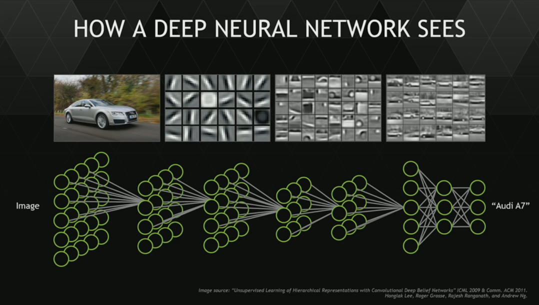 How a Deep Neural Network Sees