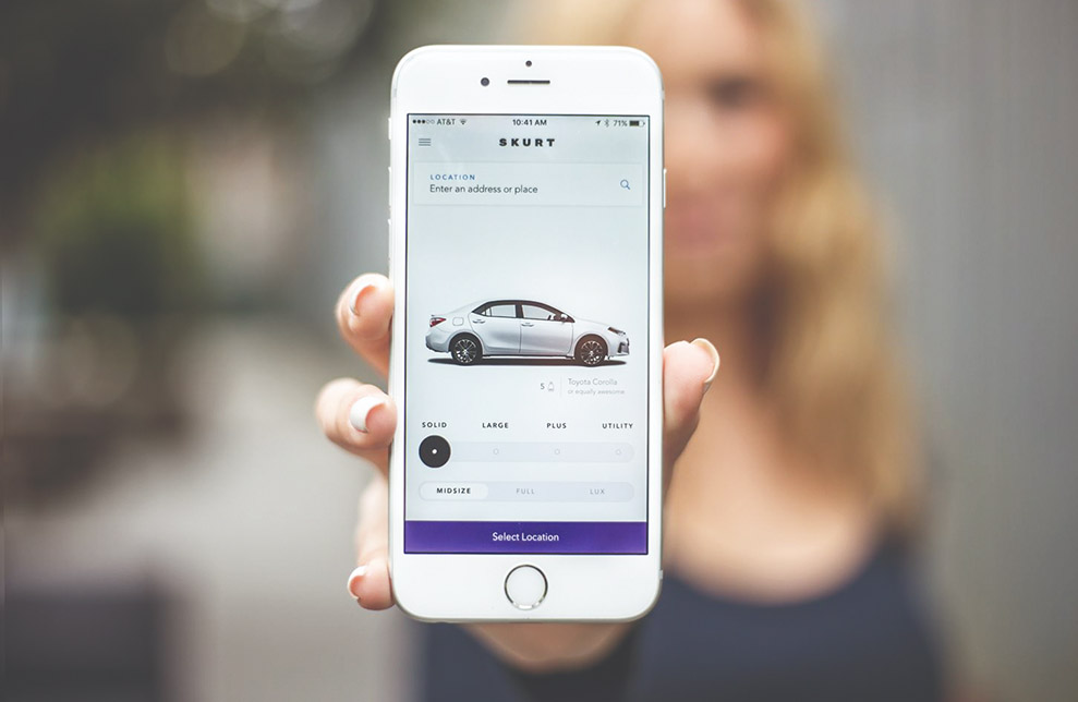 Make App for Car Rental Company