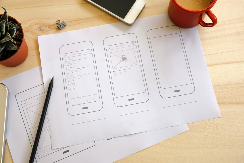 Mobile App sketch