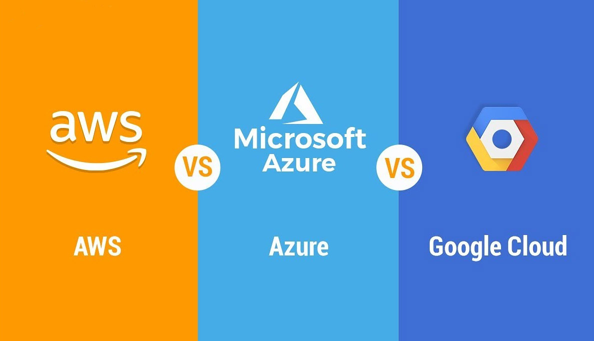 AWS, Azure, Google - cloud providers comparizon