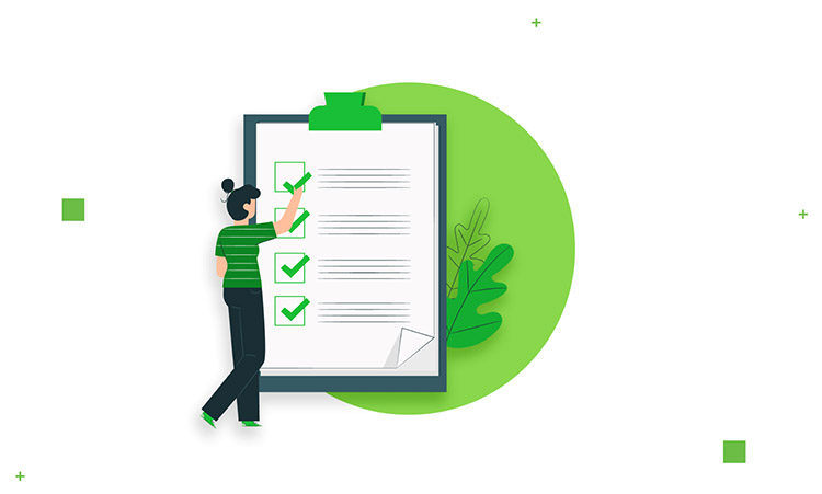 Quality testing checklist