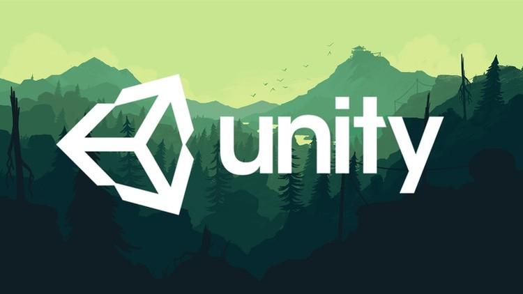 Unity game development engine