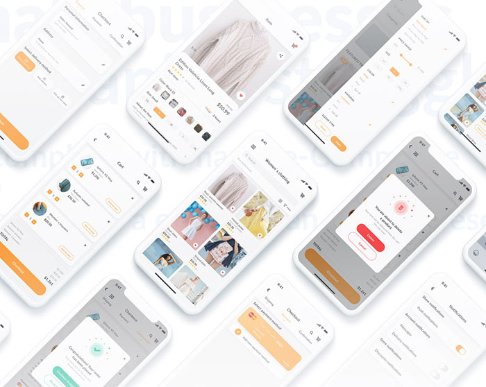 UI/UX design for Ecommerce