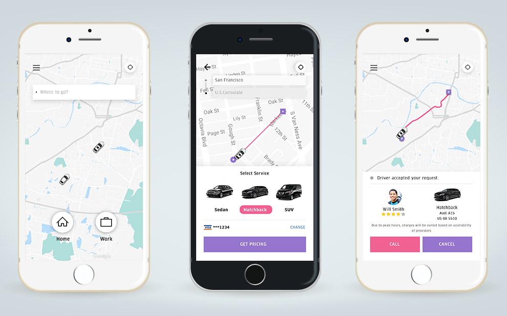 Uber clone app price