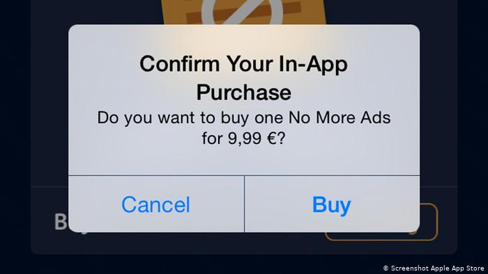 In-app Purchases Monetization model