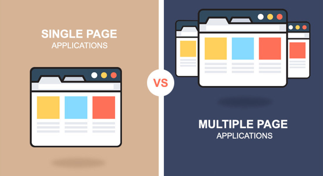 Single-page App vs. Multi-page App
