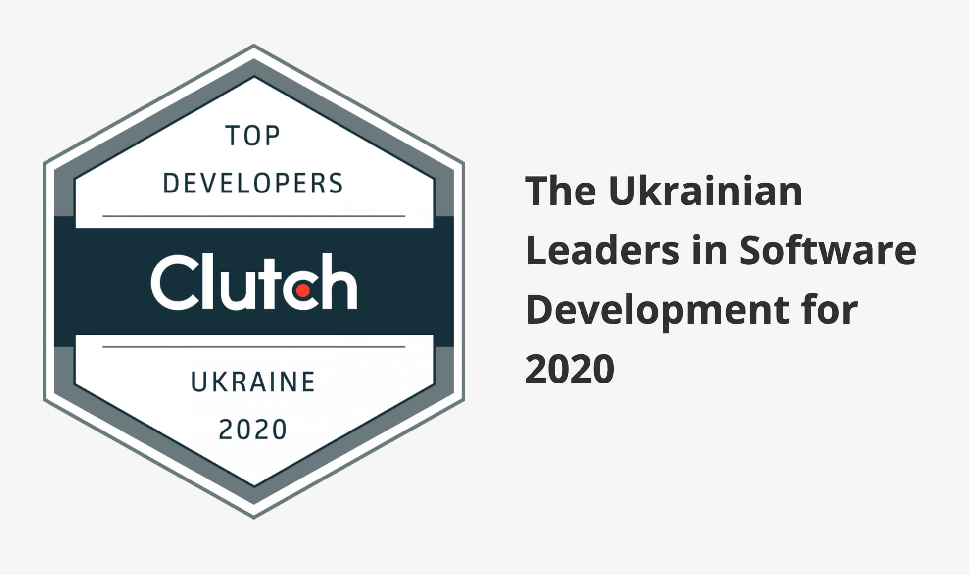 Top Ukrainian Developers according to Clutch