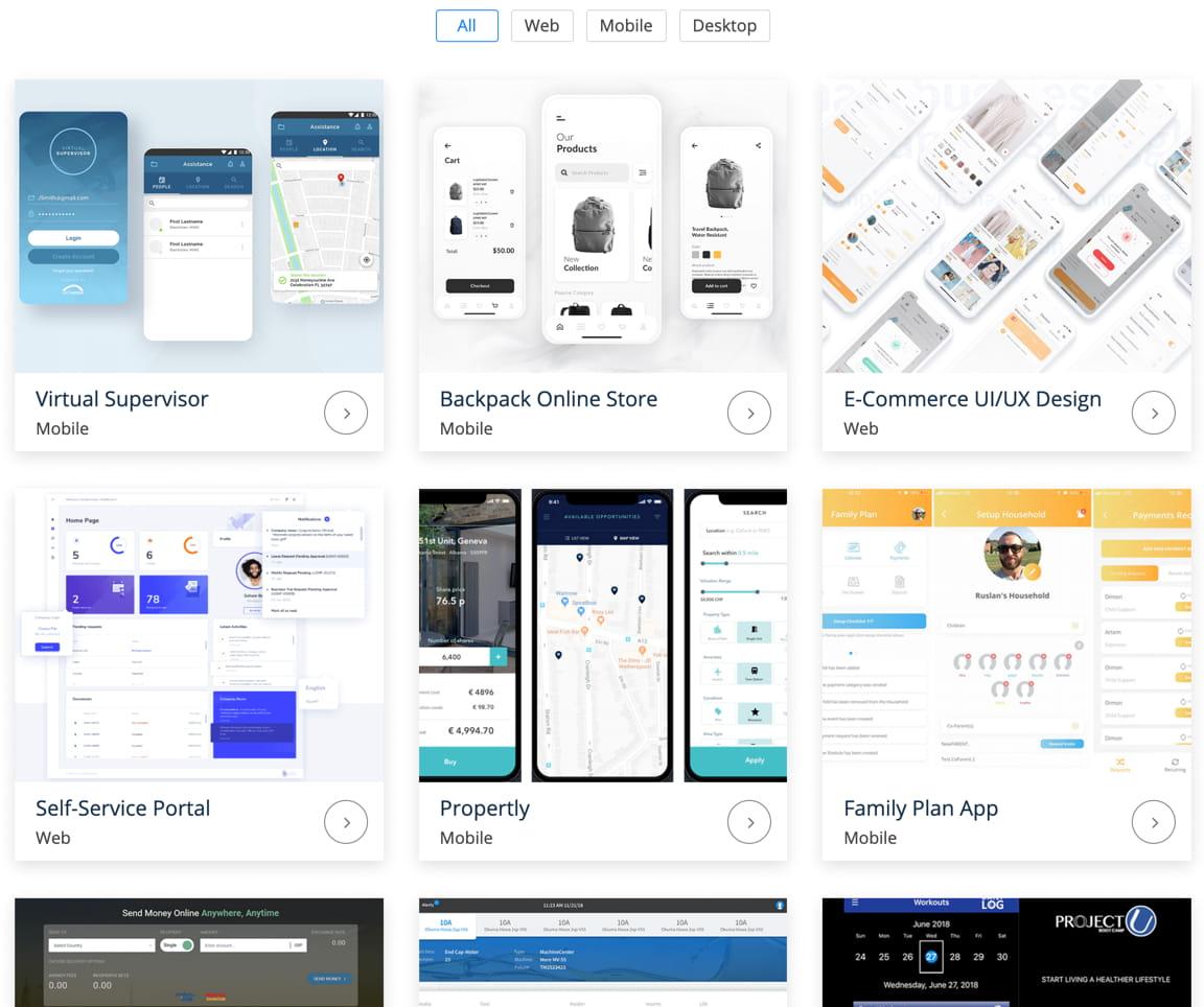Software Agency Portfolio
