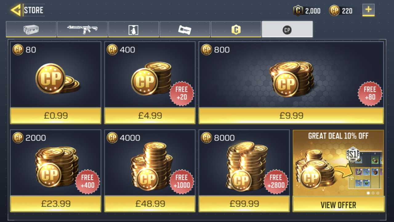 In-App Purchase game monetization
