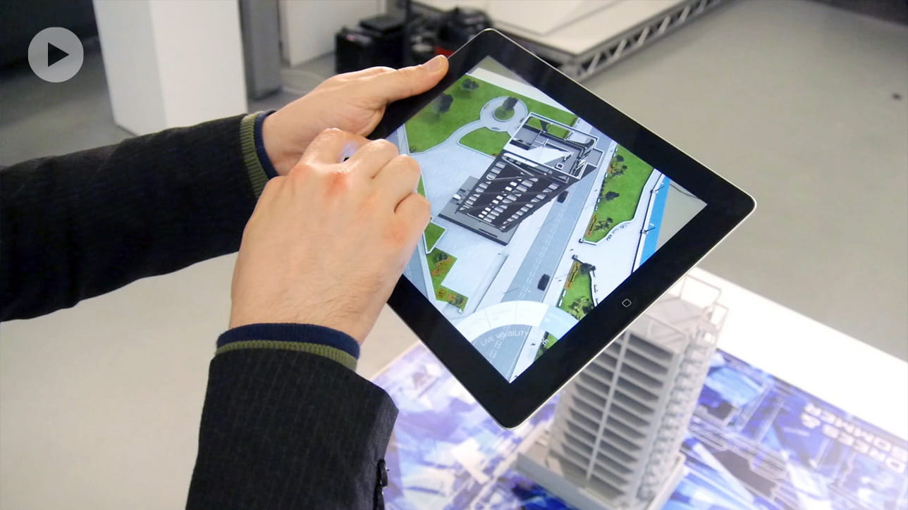 Augmented reality for architectural design
