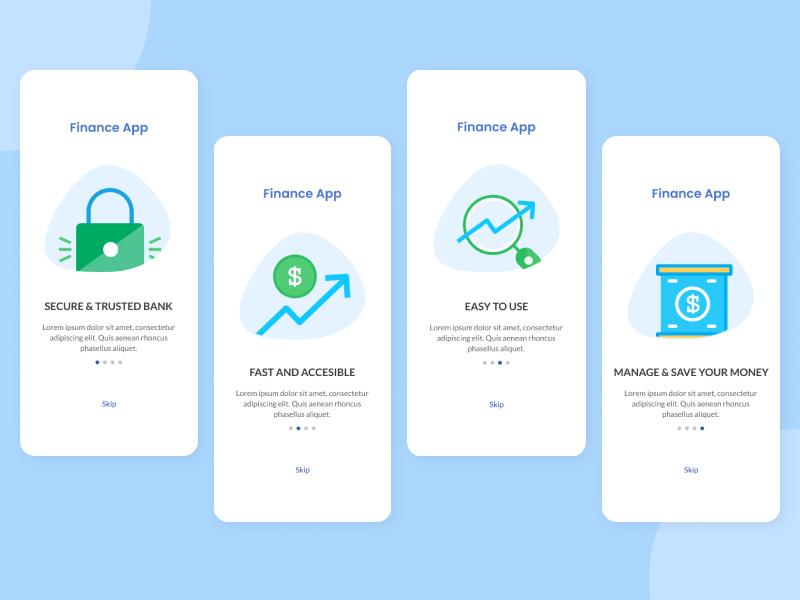 Financial App Onboarding Process