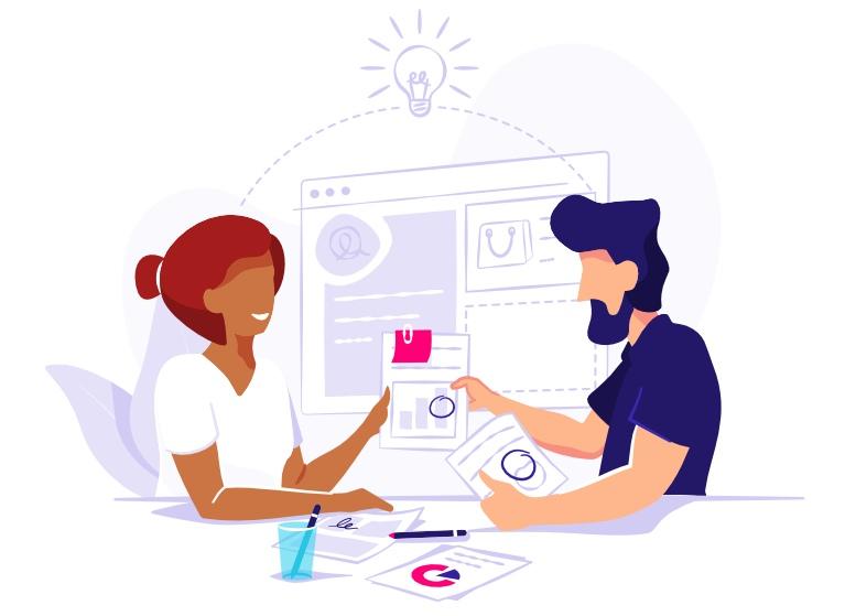 Get help from an expert application idea