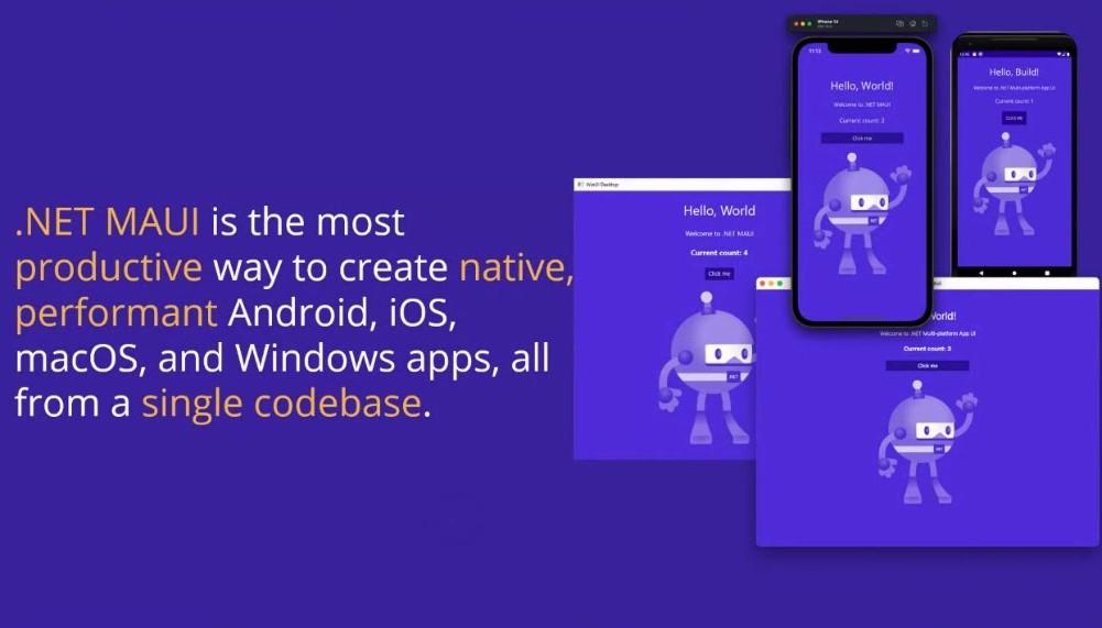NET MAUI overview